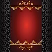 Self illustrated beautiful design background.Eps8 vector file.