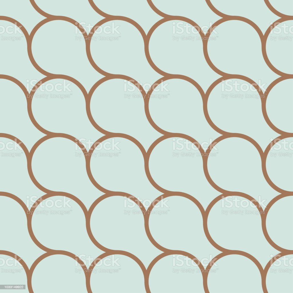 Royalty Free Golden Weave Seamless Background Clip Art Vector