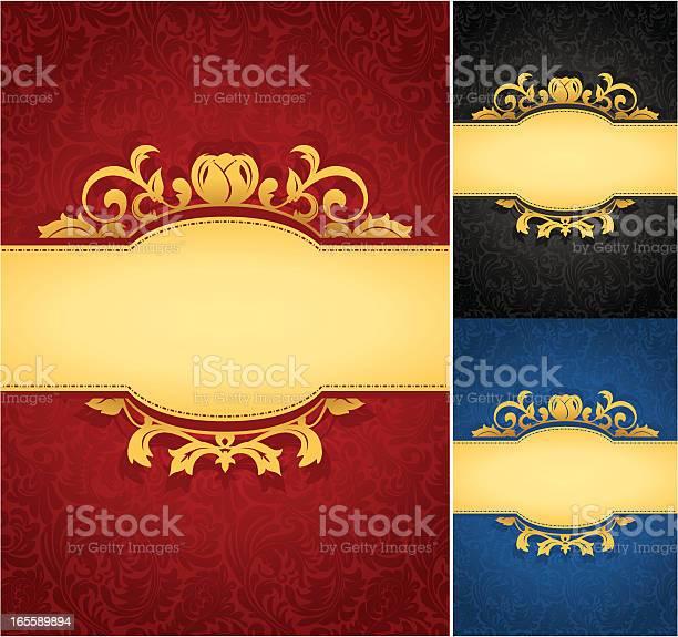 Elegant golden frame banner with ornate wallpaper background vector id165589894?b=1&k=6&m=165589894&s=612x612&h=kbnlib pc6 fr8mrqrwjtja28l52sxjlarc3ncuz9 y=