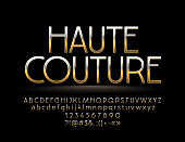 Chic style Font. Elite Alphabet Letters, Numbers and Symbols