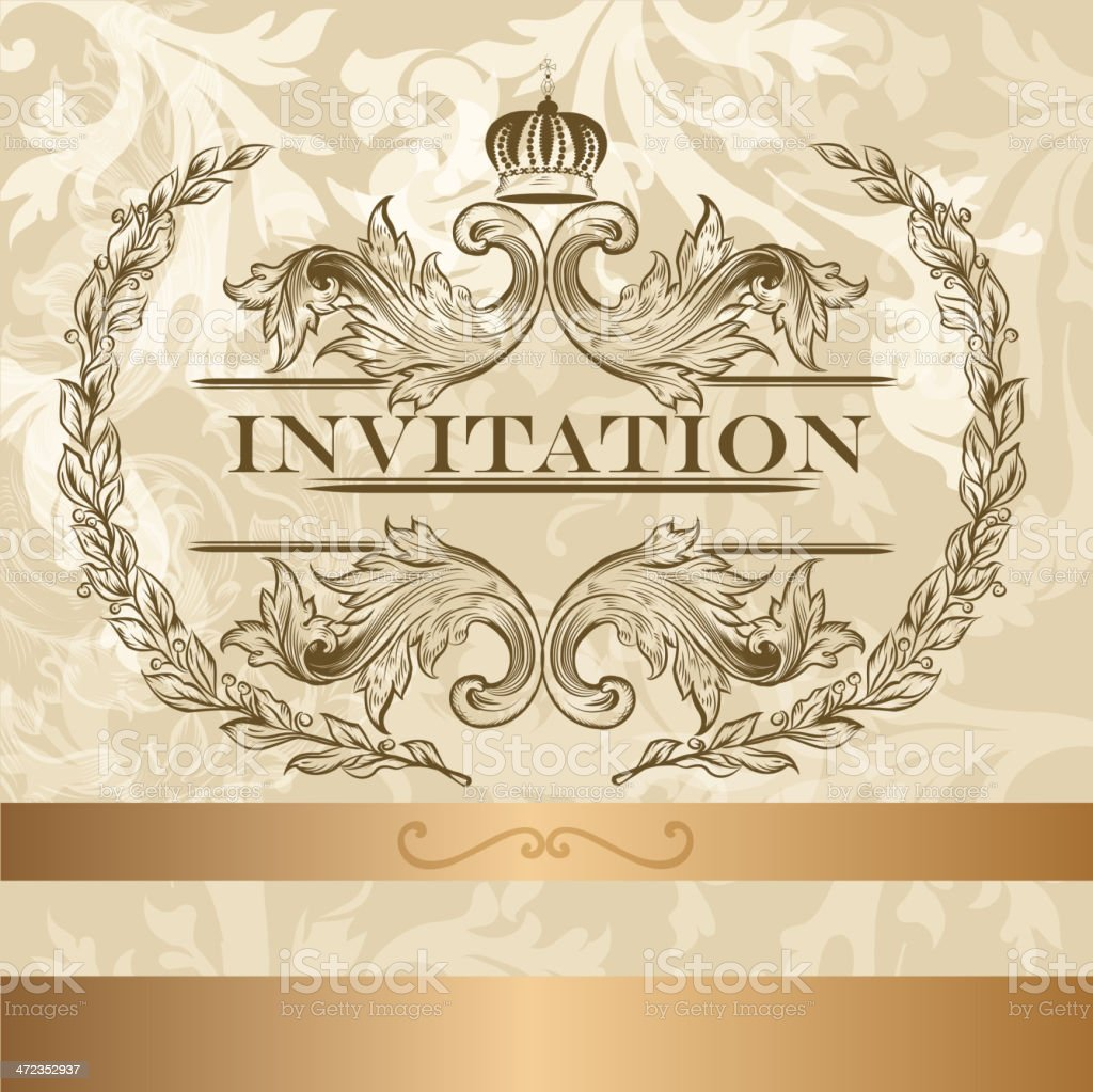 73c60fbd9c2 Elegant invitation card in light colors royalty-free elegant invitation  card in light colors stock