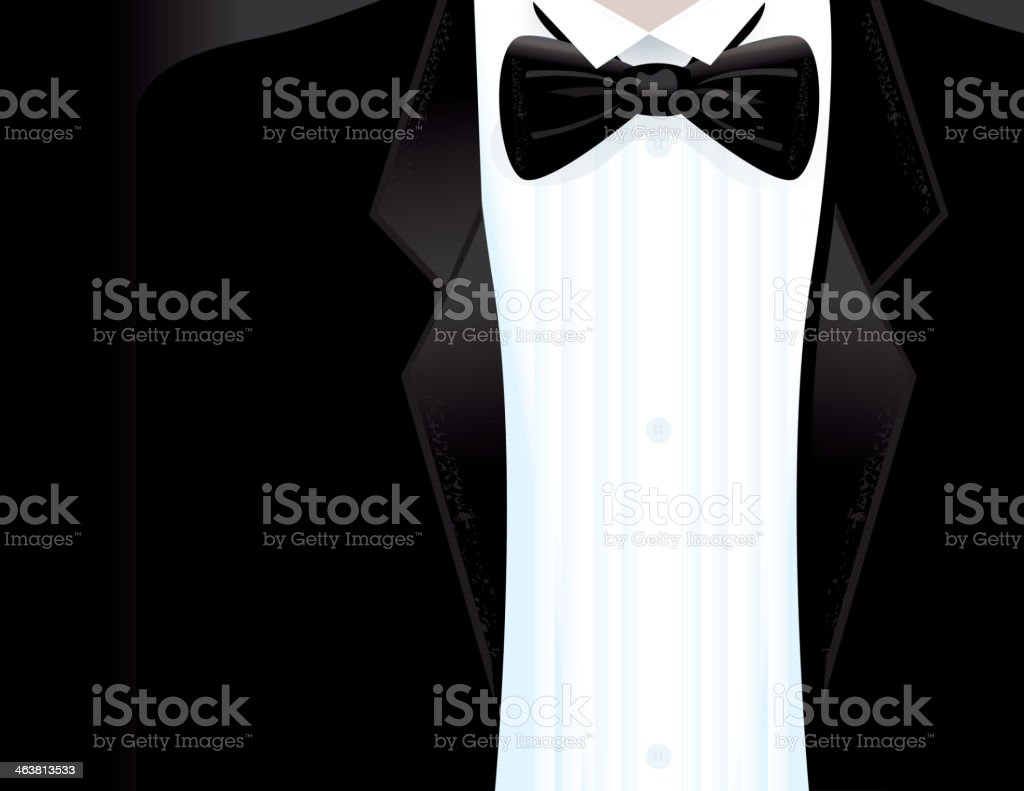 Royalty Free Black Tie Party Clip Art, Vector Images ...