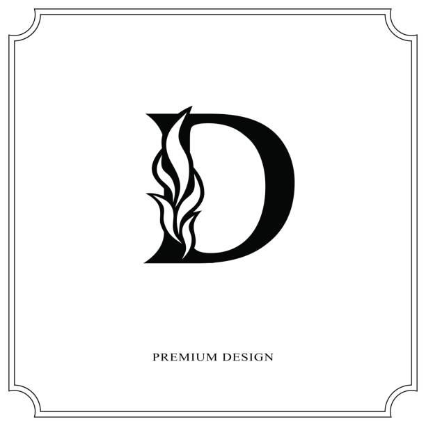 Top 60 Letter D Tattoo Designs Clip Art, Vector Graphics