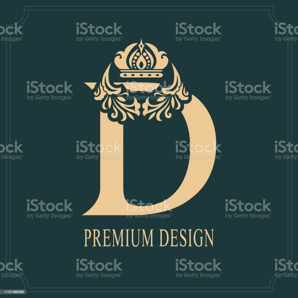 Best Letter D Tattoo Designs Illustrations  Royalty