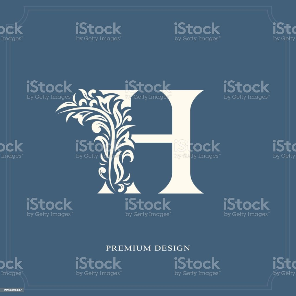 Elegant letter h graceful royal style stock vector art more images elegant letter h graceful royal style royalty free elegant letter h graceful royal thecheapjerseys Images