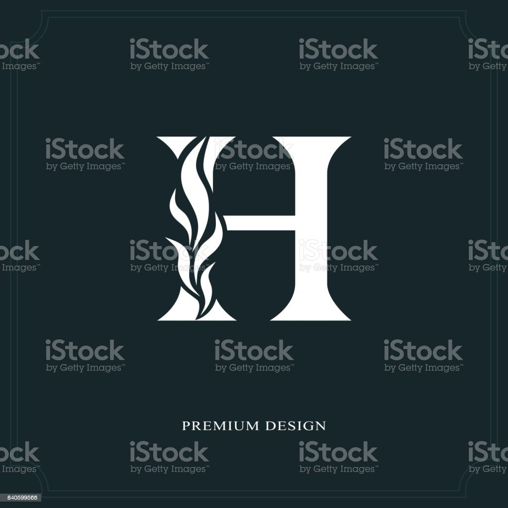 graphic relating to H&m Printable Coupon identified as Letter H Tattoo Programs Examples, Royalty-Free of charge Vector