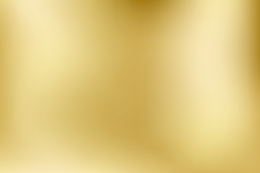 Elegant light and shine.Vector gold blurred gradient style background. Texture abstract metal holographic backdrop. Abstract smooth colorful illustration, social media wallpaper. - Vector