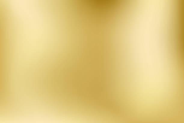 illustrazioni stock, clip art, cartoni animati e icone di tendenza di luce e lucentezza eleganti. sfondo vettoriale in stile sfumatura sfocato oro. trama sfondo olografico in metallo astratto. illustrazione colorata liscia astratta, sfondo dei social media. - vettore - sfondi
