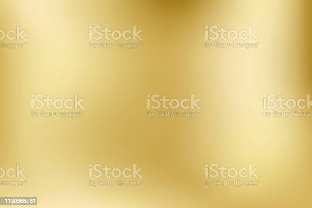 Elegant Light And Shinevector Gold Blurred Gradient Style Background Texture Abstract Metal Holographic Backdrop Abstract Smooth Colorful Illustration Social Media Wallpaper Vector - Immagini vettoriali stock e altre immagini di Acciaio