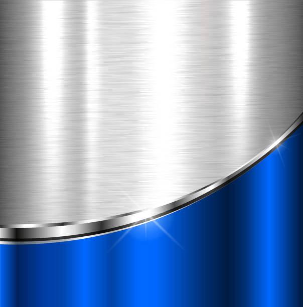 Elegante metallic-Hintergrund – Vektorgrafik
