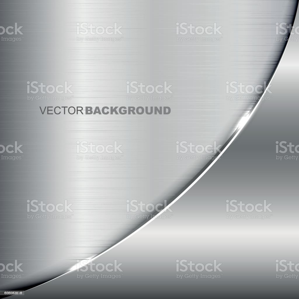 Elegant metallic background vector art illustration