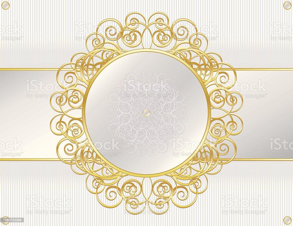 Elegante Metallic-Silber und Gold Hintergrund und Design-Element Lizenzfreies elegante metallicsilber und gold hintergrund und designelement stock vektor art und mehr bilder von bildhintergrund