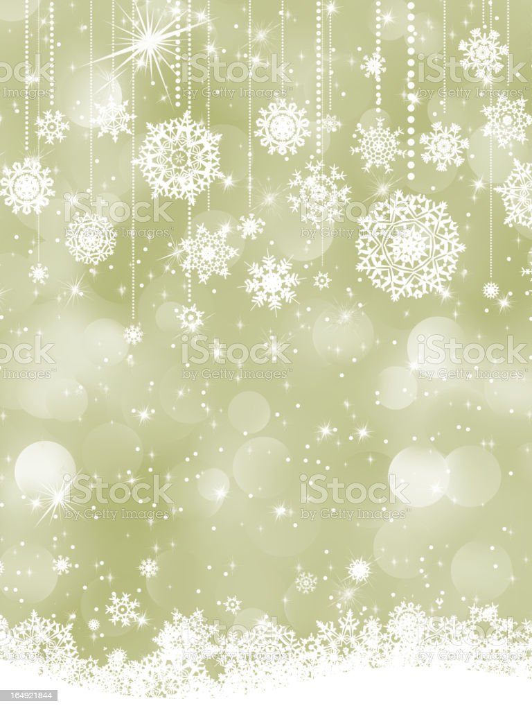 Elegant new year and cristmas card template. EPS 8 royalty-free stock vector art
