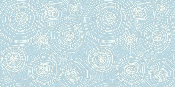 Elegant pastel color spider web seamless pattern