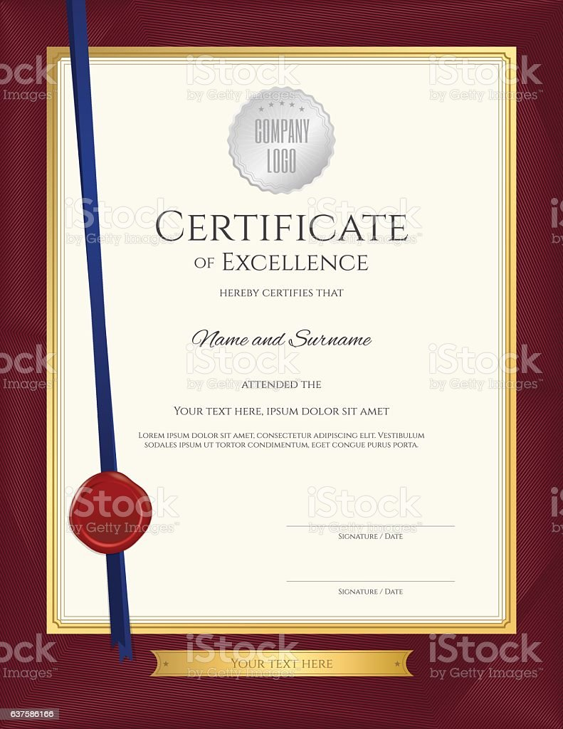 Elegant portrait certificate template for excellence achievemen elegant portrait certificate template for excellence achievemen royalty free elegant portrait certificate template for 1betcityfo Gallery