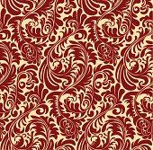 Elegant Seamless Oriental Pattern