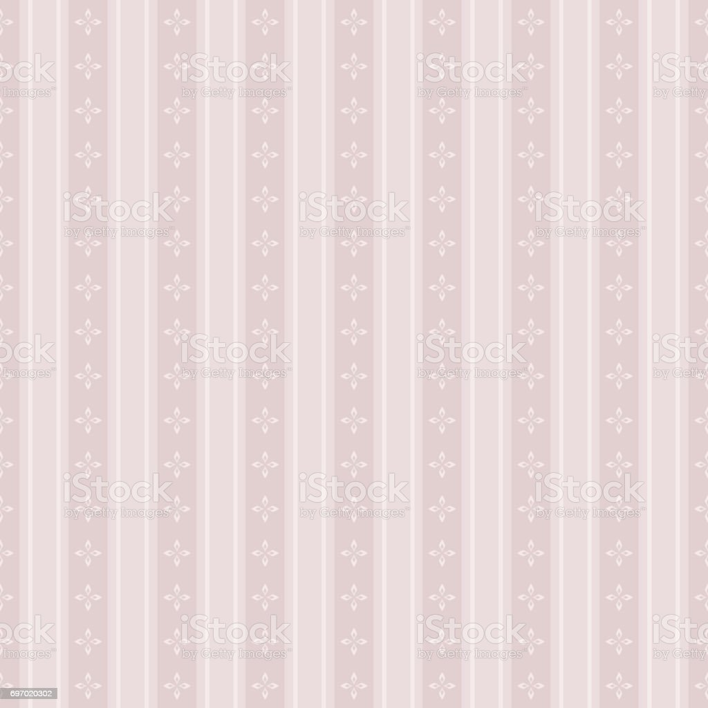 Elegant seamless Victorian wallpaper background cross flower geometry line - Illustration .