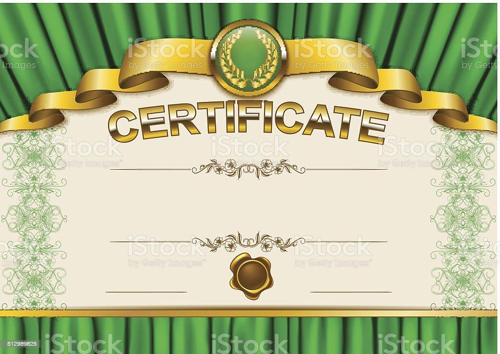 Vetores De Elegante Modelo De Certificado Diploma E Mais