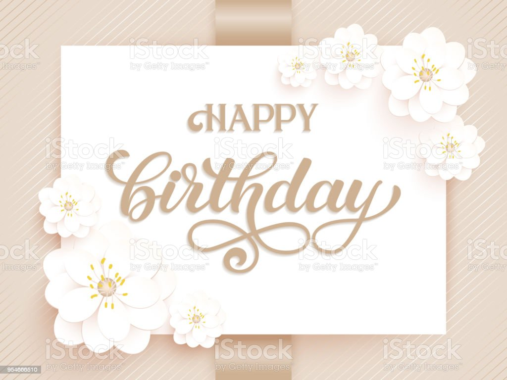 Elegant vector happy birthday card vector invitation card with elegant vector happy birthday card vector invitation card with background and frame with flower elements stopboris Image collections