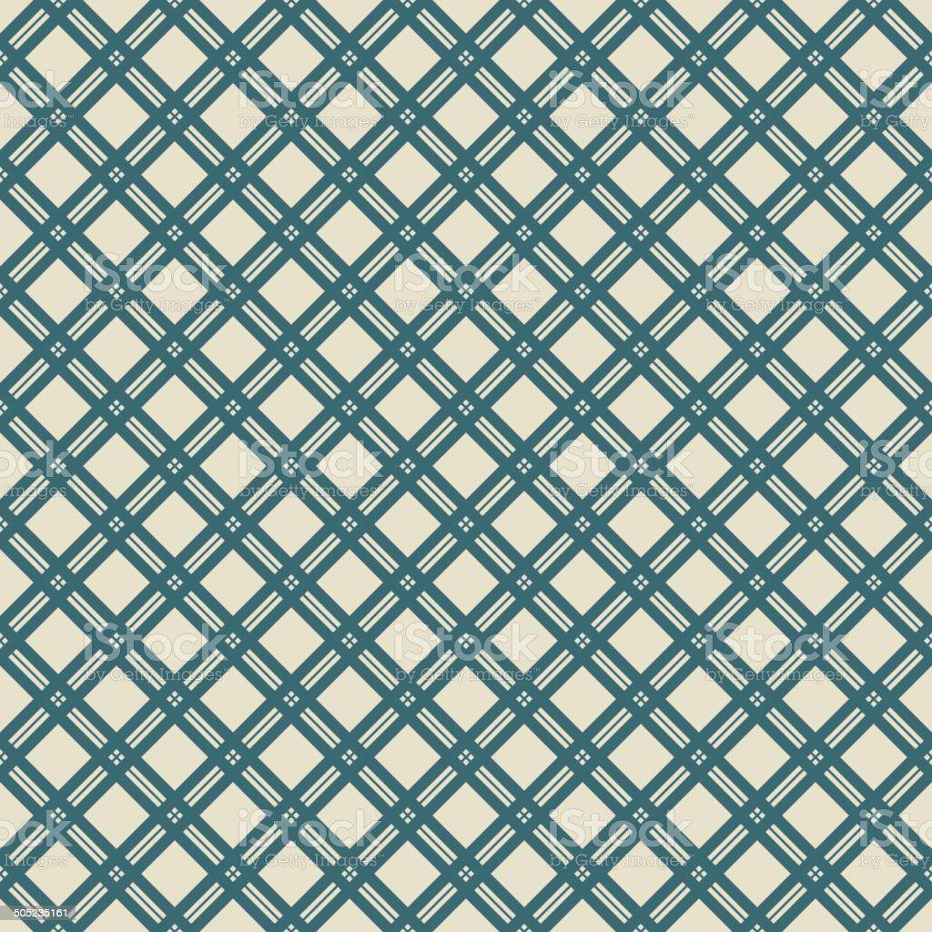 Elegant vector seamless pattern (tiling) vector art illustration