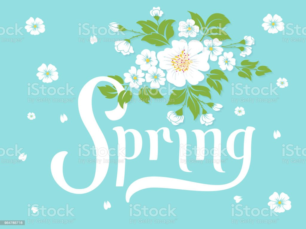 Elegant vector spring invitation card vector invitation card with elegant vector spring invitation card vector invitation card with green background and flower elements with stopboris Choice Image