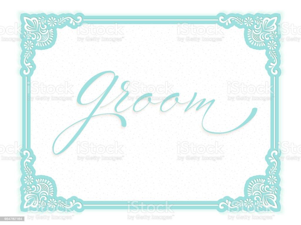 Elegant Vector Wedding Invitation Card Vector Invitation Card With ...