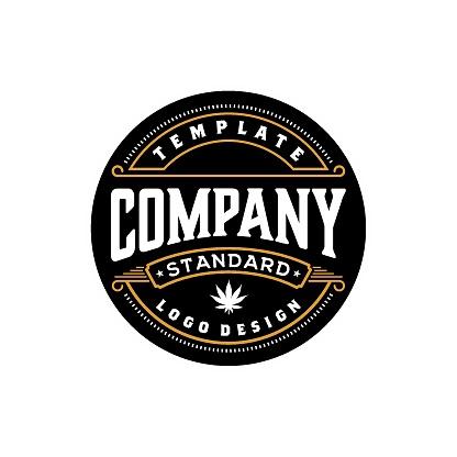 Elegant Vintage Retro Badge Label Emblem design inspiration