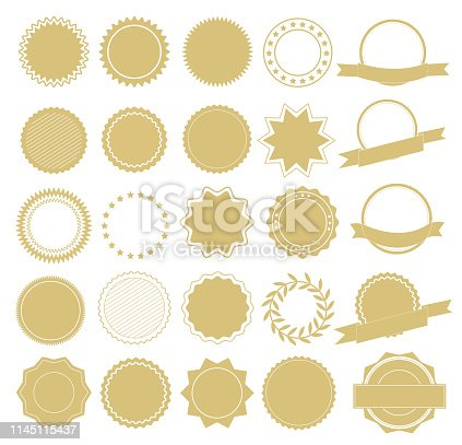 Element design collection for label and logo. Design elements. Vector Illustration