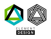 Vector illustration of the design elemnts