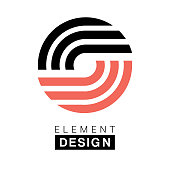 Vector element design template for business. Arrow design elements.