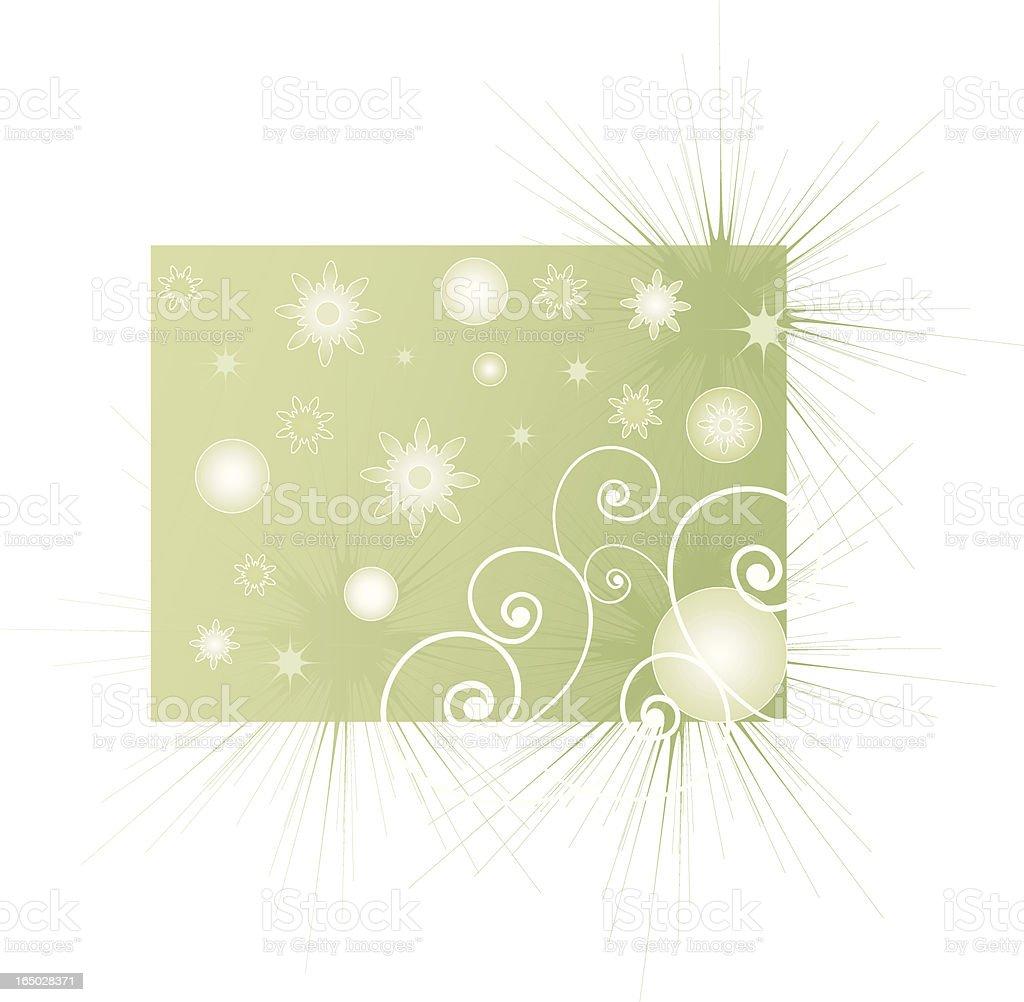 element design (green) royalty-free stock vector art