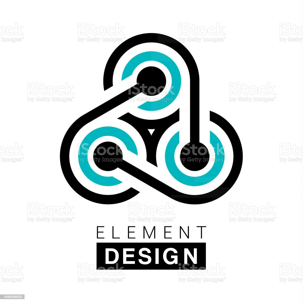 Element Design vector art illustration