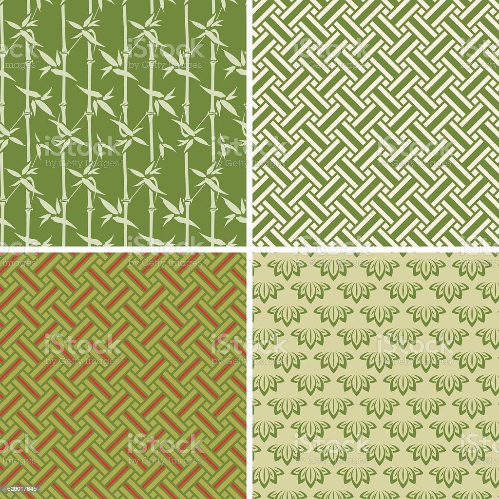 Element wood  (Seamless pattern set)