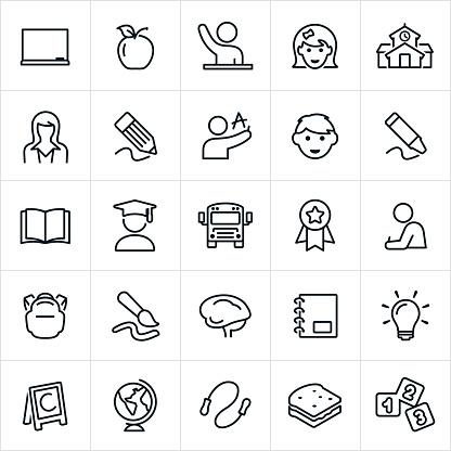 Elementary Education Icons