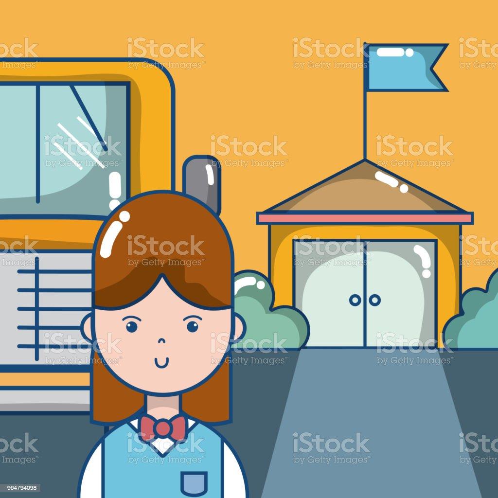 Elementary school cartoons royalty-free elementary school cartoons stock vector art & more images of illustration