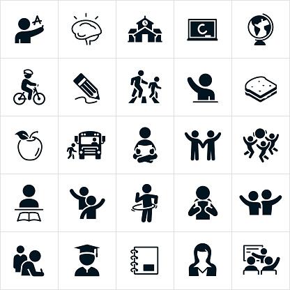 Elementary School Icons