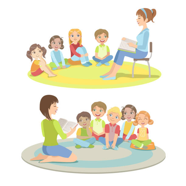 Royalty Free Sitting Floor Clip Art, Vector Images ...