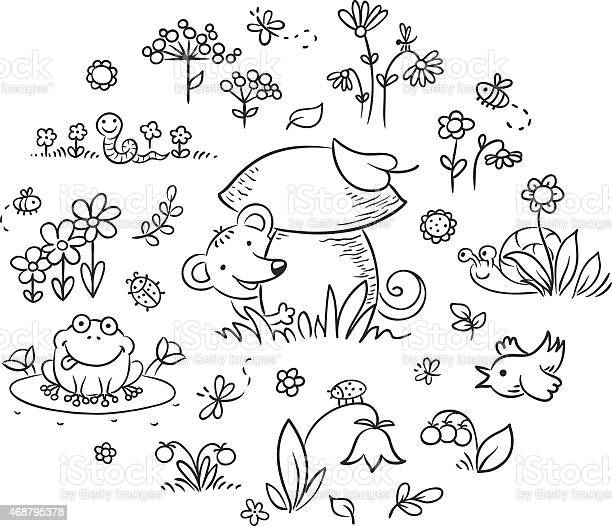 Elements for kids designs outline vector id468795378?b=1&k=6&m=468795378&s=612x612&h=1mbyxmf22mlgd6z9e8ll6wtopz d wmrgqy4jfyznfy=