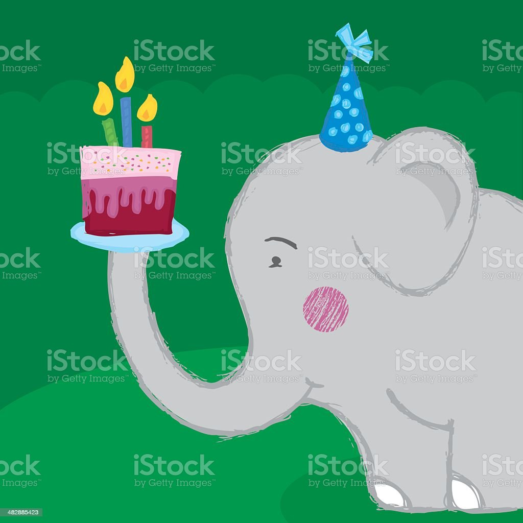 Royalty Free Eating Elephant Clip Art Vector Images Illustrations
