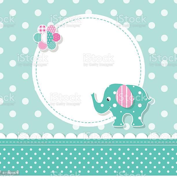 Elephant baby greeting card vector id511801878?b=1&k=6&m=511801878&s=612x612&h=22xigtvy3e7yj5lkmt zcippof4twroflrqmvztdjwo=