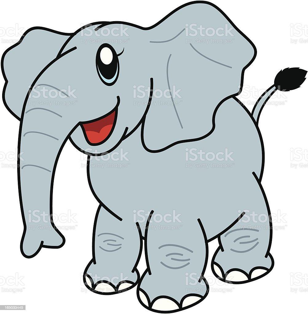 elefanten comic stock vektor art und mehr bilder von clipart 165033445 istock. Black Bedroom Furniture Sets. Home Design Ideas