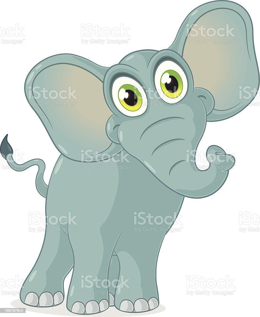 elephant cartoon stock vector art 165797842 istock