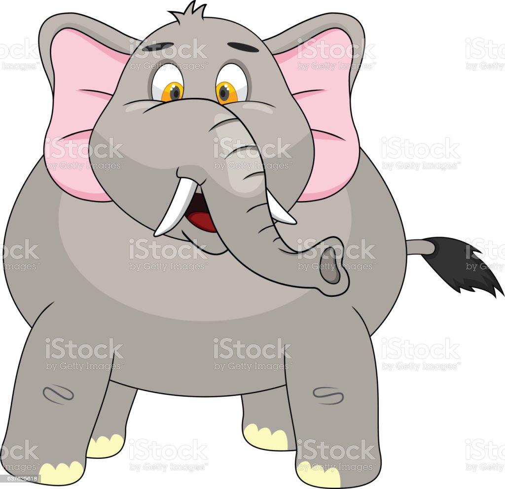 elefanten comic stock vektor art und mehr bilder von afrika 637625618 istock. Black Bedroom Furniture Sets. Home Design Ideas