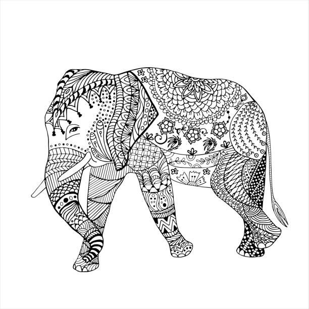 Best Thai Elephant Illustrations, Royalty-Free Vector ...