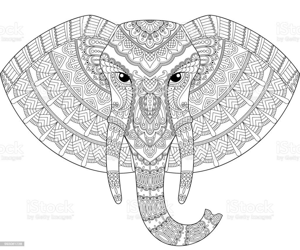 afrikanische muster malvorlagen bilder  zeichnen und färben