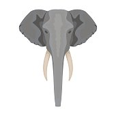 Free download of Elephant Head vector graphics and ...