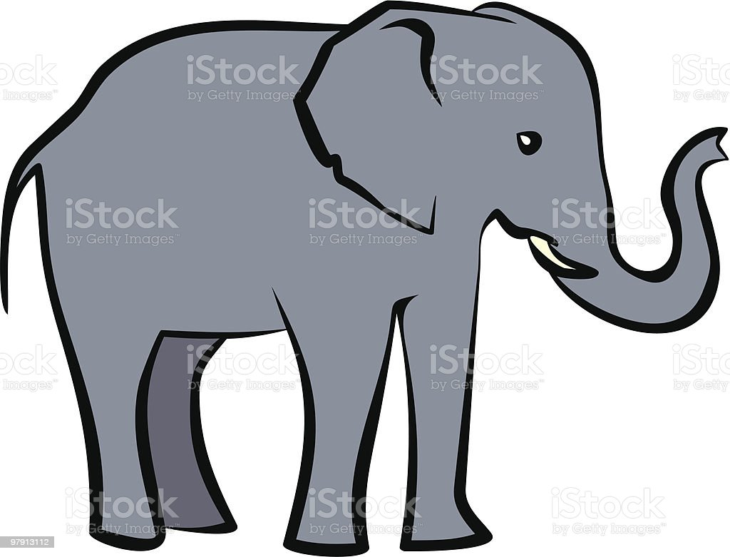 Elephant Illustration royalty-free elephant illustration stock vector art & more images of animal