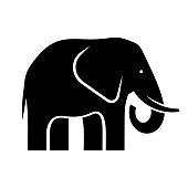 istock Elephant logo 1167361149