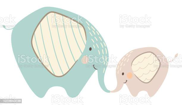 Elephant mom and baby cute print sweet animal family vector id1023840238?b=1&k=6&m=1023840238&s=612x612&h=kcdscecdu6p5e3 l608rlhc7vq0pklybefctfciglec=