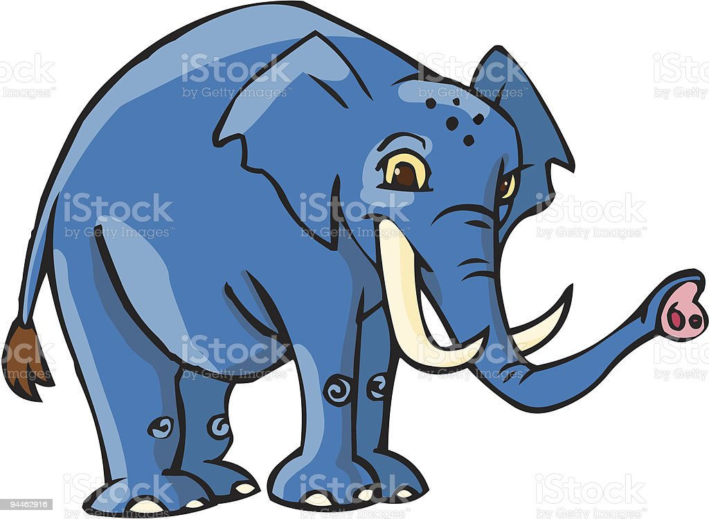 elephant standing royalty-free elephant standing stock vector art & more images of africa